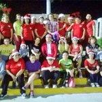 Divertida posada navideña en el Parque de la Alemán con los alumnos de #MéridaEnAcción del Inst. Martín Rodríguez http://t.co/peVum2osmR