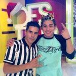 Aquí con el Campeón de la reta de baile #Destardes #elRey @brandon_meza http://t.co/xWUARbYhva