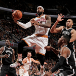 Cavaliers bounce back from 29-point loss to Hawks, beat Nets, 95-91. Cleveland improves to 15-10 this season. http://t.co/2as0DS0zNF