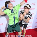 New pics from the LA premiere are up at http://t.co/ZQgIcuFM9F! Make sure to check them out & get #expelledmovie now! http://t.co/LfYrT0X7KQ