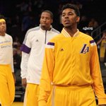 Zeroed in and ready to go. #GoLakers http://t.co/QbxHXscLBV