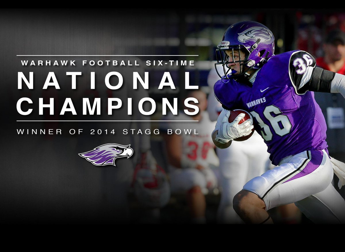UW-Whitewater wins the Stagg Bowl! Final is 43-34 over Mount Union #BleedPurple #PoundTheRock http://t.co/vUYcQtb2cB