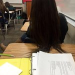 When the girl in front of you wont get her hair off your desk http://t.co/xke868GRz9