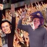 RAISE YOUR HAND IF YOURE THE REAL HARRY STYLES THE FANDOM BE LIKE: #WeAreAllHarry #WeAreAllHarryFollowParty http://t.co/ZHZAh1aINo