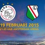 Kaartverkoop #Ajax - Legia Warschau start straks om 9:00 uur: http://t.co/uAA7d2VWK9 #UEL #ajaleg