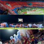 Hinchada de Independiente medellin en La Final Vs Independiente Santa fe http://t.co/xVJVxoAoDz