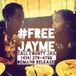 Please call #Milwaukee PD and ask to #FreeJayme (Jayme Baker) a member of #Ferguson #WomenCaucus 4142784766 http://t.co/boPfaMNAxY