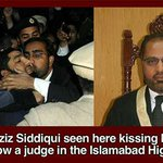 shauqat aziz siddiqui high court judge kissing Qadri the murderer. time for him to be removed. no debate just do it. http://t.co/vgIQ9mQ6Gi