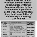 @ShkhRasheed https://t.co/0mkHz72UWq here is complete information and city-wise phone num by pak army. call if finn any suspicious person