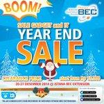 Mau HP baru? Jgn bingung ayo skrg ke BOOM YEAR END SALE Gadget & IT 20 - 27/12 di #istanaBEC - @BEC_online http://t.co/4zQisyyjum
