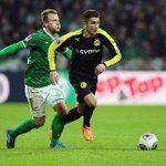 Die Borussia gewann die letzten drei Spiele in Bremen – und das deutlich (2:0, 5:0, 5:1). #svwbvb http://t.co/Sxj9XP03F0