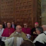Segovia da la bienvenida a su nuevo obispo, Monseñor Cesar Franco http://t.co/gkwTanit5w