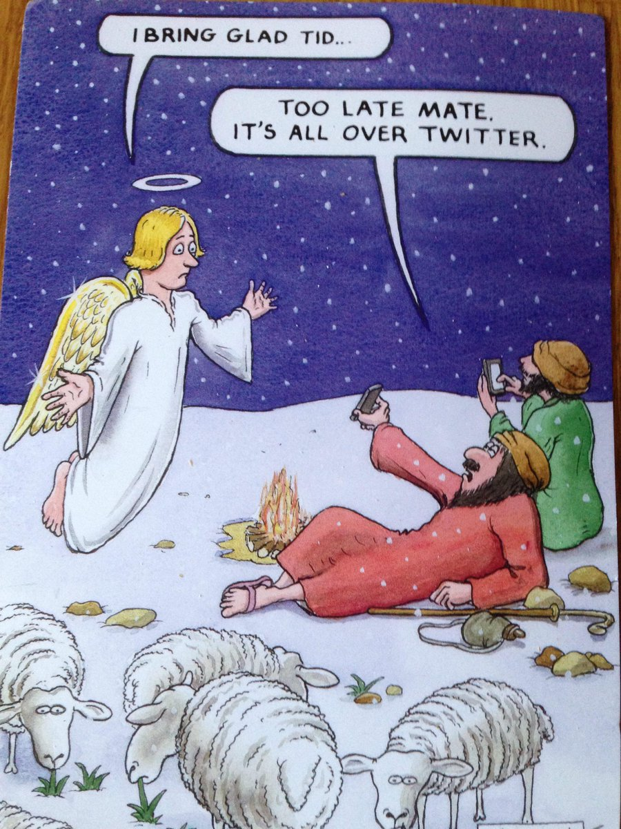 Probably the most apt Xmas card I have had deserves to be seen on Twitter….;-) http://t.co/BSvVPaYlr0