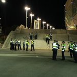 Soccer hooligans at it again. #MelbDerby http://t.co/6kuLnrttBX