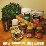 #Win a Beanies Xmas Hamper filled with festive #BeaniesCoffee treats! Follow & RT to enter -winner drawn 22nd Dec! http://t.co/nTwMAy54vI