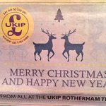 "I MAY. NEVER. STOP. LAUGHING.   #Ukip have published a Xmas ad that reads ""SAY NO TO THE UK"".  via @christophe_read http://t.co/DEEqJjRXUr"