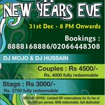 We are going all out party mode this new years eve! Early bird rates till 25th Dec! 08888168886/02066448308 to book. http://t.co/y0UVKjjaI7