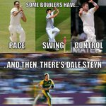 Lost for words for this dude! Well done on another fifer @DaleSteyn62. Keep doing us proud bud! #WorldNo1 #ProteaFIRE http://t.co/985QQ4pp52