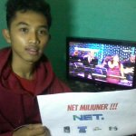 @netmediatama Smoga nnti malam saya pemenangnya. :-) amin #NETMILIUNER_1 #NETMILIUNER_2 #NETMILIUNER_3 #NETMILUNER_4 http://t.co/7wzWzI13A6
