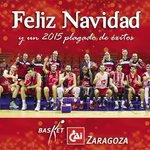 Buenos días, afición! Desde el CAI Zaragoza os deseamos feliz Navidad y nuestros mejores deseos para el 2015 #AúpaCAI http://t.co/vxnpJN41KS