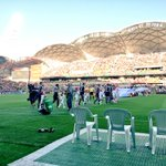 The players are out! #MelbDerby http://t.co/UDAj2Ocobj