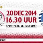 Vanmiddag #JongAjax - De Graafschap op de Toekomst! Tickets vanaf € 5. Kinderen t/m 13 betalen slechts € 1. #ajagra