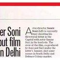 RT @FatimaHeera: Samir Soni shoots debut film in Delhi - Hindustan Times @htcity @sanjaysuri @kahwafilms  @zeniastarr @neelamkothari http:/…