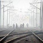 30 trains to Delhi delayed due to fog http://t.co/o5PQqxvXBM http://t.co/Oz2mxIsbTV