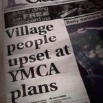 Newspaper headline perfection ~ via @weesmmc http://t.co/qgUKPS11pS