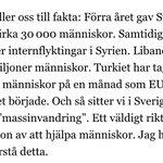 """Migrationsverkets GD om """"massinvandring"""" http://t.co/hvlLOaqG1p"""