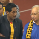 His excellency @najibrazak Prime Minister of Malaysia is out in support of Team Malaysia #AFFSuzukiCup http://t.co/mcKxLcVblJ