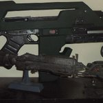 My new (and only) Pulse Rifle, made by @Nerfenstein, is fantastic, I love it. http://t.co/yWmzwWVVog