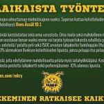 ETSIMME MÄÄRÄAIKAISTA TYÖNTEKIJÄÄ! -> http://t.co/BaaOvCRLjl #Ilves #Liiga #Tampere #rekry http://t.co/Vi20eVYaLG