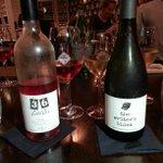 Stylish @36bottles & @Writers_BlockNZ #nzwine with classy @MuseonAllen food - thx @Wine2Trade http://t.co/OqQwPimFXk