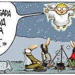 Anunciando la buena nueva incluso antes dq existiese @_InakiLopez_  y la @SextaNocheTV #Navidad,hoy @DiariodeNavarra http://t.co/2LxnuCytTq