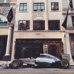 We are happy to welcome a special guest in front of our newly openend #IWC Boutique on New Bond Street in #London. http://t.co/FZZXaikfS8