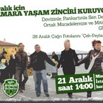 20-21 Aralıkta #Marmara için #YaşamZincirine! #MarmarayiSavun #ff @MarmarayiSavun http://t.co/VsPT7FddX8 http://t.co/BoRcXw1K61