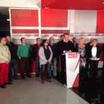 Presentando el trabajo de los compañeros socialistas con  más de 1600 propuestas para Zaragoza. #compromisomilitante. http://t.co/ohqBCaDF1t