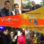 Hoy no te pierdas @jgvideocontrol programa especial con @jeyroofficial por @Oromar_TV a las 19h00 #Ecuador http://t.co/xLC7RxHnwk
