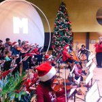 Beautiful Christmas music on a Saturday morning courtesy of The KW Community String School #KWAwesome http://t.co/jnk1WuZj3O