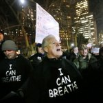 New York police supporters in most distasteful protest possible http://t.co/OlQlsSY5CF #ICantBreathe http://t.co/stHJ87YID7