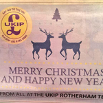 "An unfortunate error... UKIP publish a Christmas ad that reads ""Say No To The UK"" via @sturdyalex http://t.co/m90k646tt4"