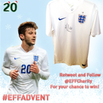 RT & FOLLOW! @EFFCharity for your chance to win a signed England shirt from @LFC midfielder Adam Lallana #EFFAdvent http://t.co/wREJ3oR4bB