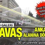 Ankara savaş alanına döndü. Genel Başkan hastaneye kaldırıldı. 100ün üzerinde gözaltı. FOTO http://t.co/sj0ckDLrnP http://t.co/drxfc30GKU