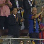 A good half of football from Malaysia in front of His excellency @NajibRazak Prime Minister of Malaysia #AFFSuzukiCup http://t.co/SrbucRqAXz
