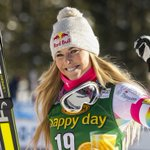 Lindsey Vonn wins cow in Val d'Isere, one victory from record http://t.co/Fh0JUGhWSE