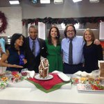 Did you see our Gingerbread House competition? @SheinelleJones took home the blue ribbon!  Caption our pic… go! http://t.co/VpQuXgHiT6