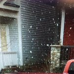 Snow in Charham Co. Courtesy of one of our producers. #wral http://t.co/OS3waOqB7t