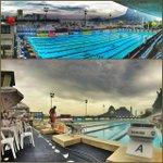 Nem com o dia nublado e feio a piscina do Botafogo consegue ficar feia. Não tem como! #paradise http://t.co/8qCNiY8rIf