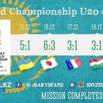 Миссия выполнена!!! #IIHF #IIHFKAZ #Kazakhstan http://t.co/QaSy0YQi0z